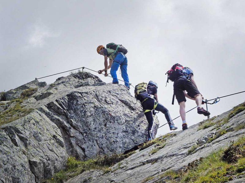 Klettersteig-Ifinger-Schenna
